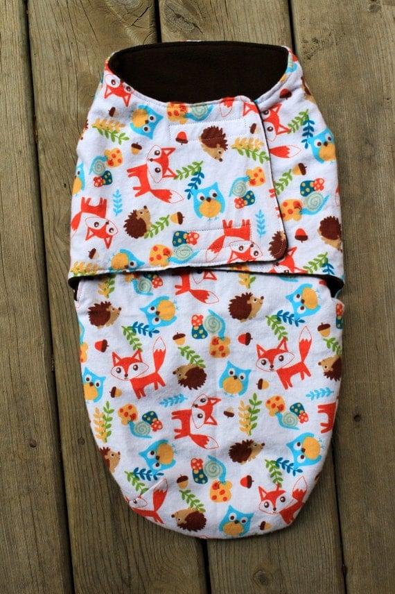 Items Similar To Baby Swaddle Wrap Bag Snuggle Blanket