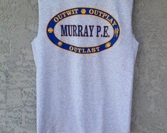 Graphic Muscle Tee Tank Murray P.E.