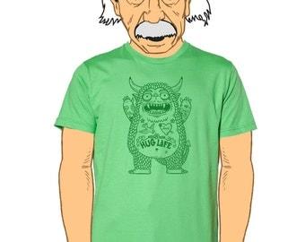 Hug Monster Mens T-Shirt Small, Medium, Large, XL, XXL in 6 Colors