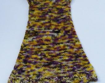Knitted Dress and Soaker Set