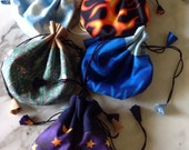 Earth, Air, Fire, Water, and Spirit: Five Magic Gift Bags, Drawstring Pouches