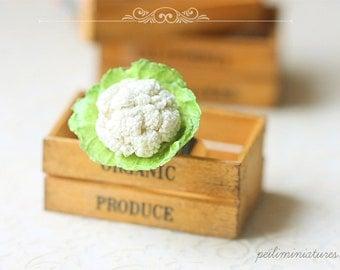 Cauliflower Art Ring - Vegan Jewelry