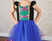 ANNA TUTU dress  princess dress for birthday party dress  or portrait