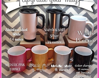 Mug Upgrade for mug orders