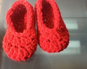 SALE - Memom Slippers for baby - Size 6 to 12 months Ready to Ship FREE in the US