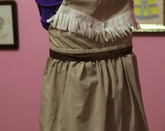 Native American Princess Adjustable Play Dress