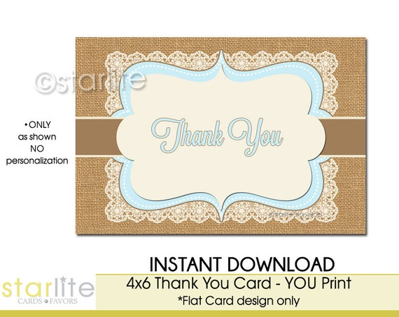 Simplicity image intended for printable baby shower thank you cards