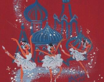 Russian Ballerinas - Print