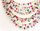 Habitat by Jay McCarroll mini bunting *sold BY THE FOOT* party/photo prop