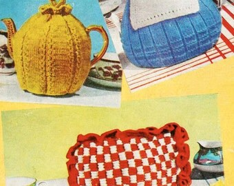 3 Tea Cosies - Digital Knitting Pattern