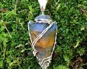 Arrowhead Pendant - Artisan Stone Jewelry