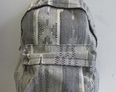 LAST ONE Handmade Aztec Woven Back Pack
