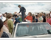 Robert F. Kennedy,  COAST GREETING, Clyde Keller Photo, Featured in HBO film, Ethel, by Rory Kennedy, 16x20 inch Fine Art Print, Color