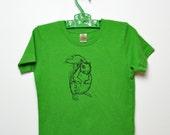 Organic Squirrel Tees (green) -  Infant & Toddler