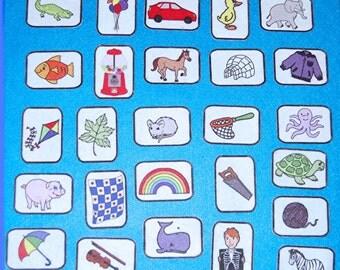 Alphabet Felt Board Set -26 objects (A-Z)