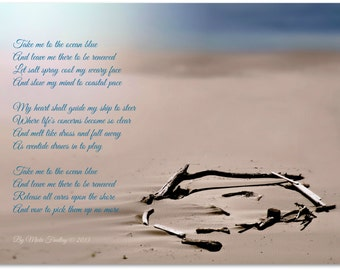 Take Me To the Ocean Blue - 8x10 Fine Art Photo Print - Bandon Beach