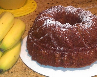Moist and Delish Banana Bundt Cake
