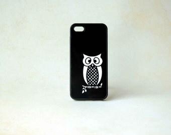 iPhone Case, Phone Case, Phone Cover, Owl iPhone Silicone iPhone 4, 4s, 5, 5s, 5c, 6, 6s, 6 Plus, 6s Plus Case, Galaxy S3, S4, S5, S6 Case