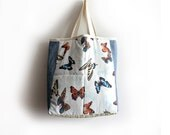 Large Tote Bag- Butterfly