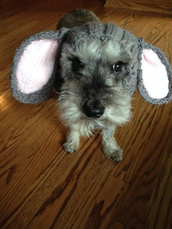 Bunny Dog Snood Knit Pattern