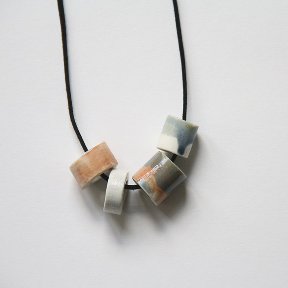 Ceramic Necklace in Desert