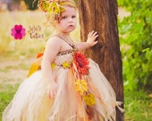 Shabby Scarecrow Empire Tutu Dress Costume