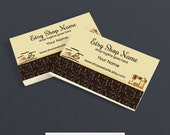Business Card Designs - Printable Business Card Design - Sewing 1