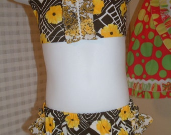 Vintage Style Bathing Suit Size 6 - 12 months