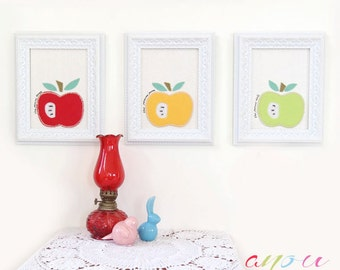 """Set of Three canvases, Children Wall art, Baby wall hanging, Nursery canvas, Kids wall decor, Canvas 5 x 7"""""""