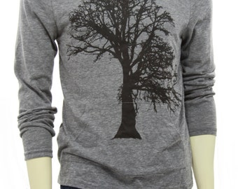 Oak tree | Unisex lightweight hoodie | soft organic cotton blend