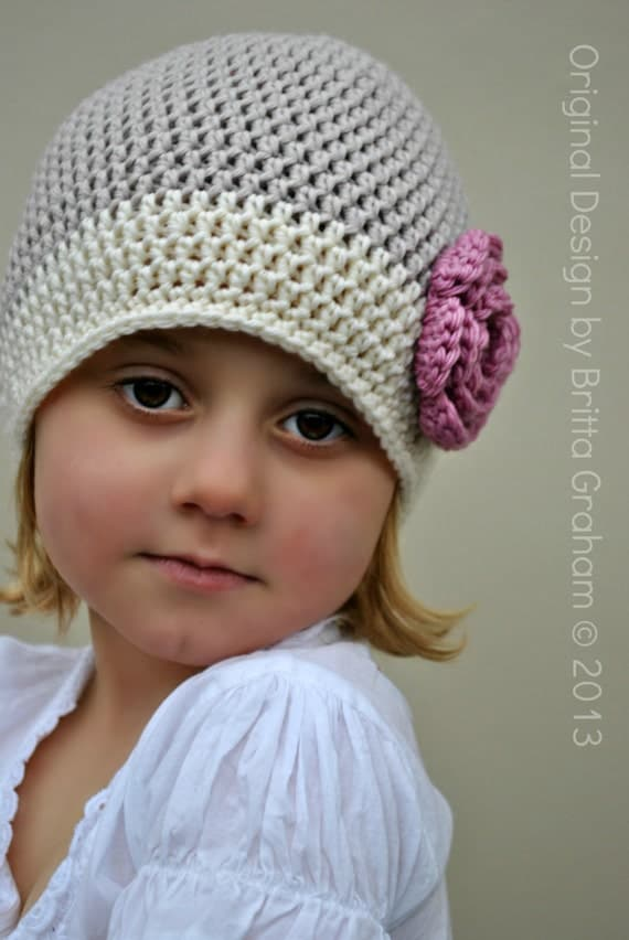 Crochet Basic Beanie Hat Pattern : Items similar to Basic Beanie Pattern - Unisex Crochet Hat ...