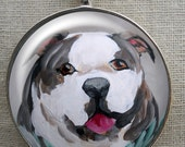 English Bulldog Keychain ~ Bullie Owner Gift ~ Boyfriend Gift ~ Teacher Gift ~ February Birthday