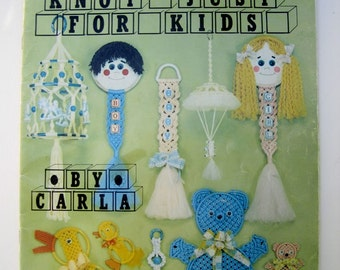 Macrame for Kids Pattern Book - Macrame Craft Projects for Children