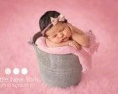 Newborn photo prop, newborn girl, newborn headband, newborn props, newborn tieback,  newborn girl prop, 8 bows to choose from