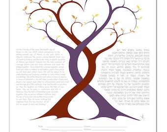 Ketubah: A Lover's Embrace II