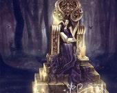 Storykeeper 8x10 Art Print by Selina Fenech
