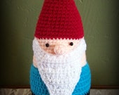 Keeper of the Roll Bathroom Gnome Toilet Paper Cozy Pattern (PDF)