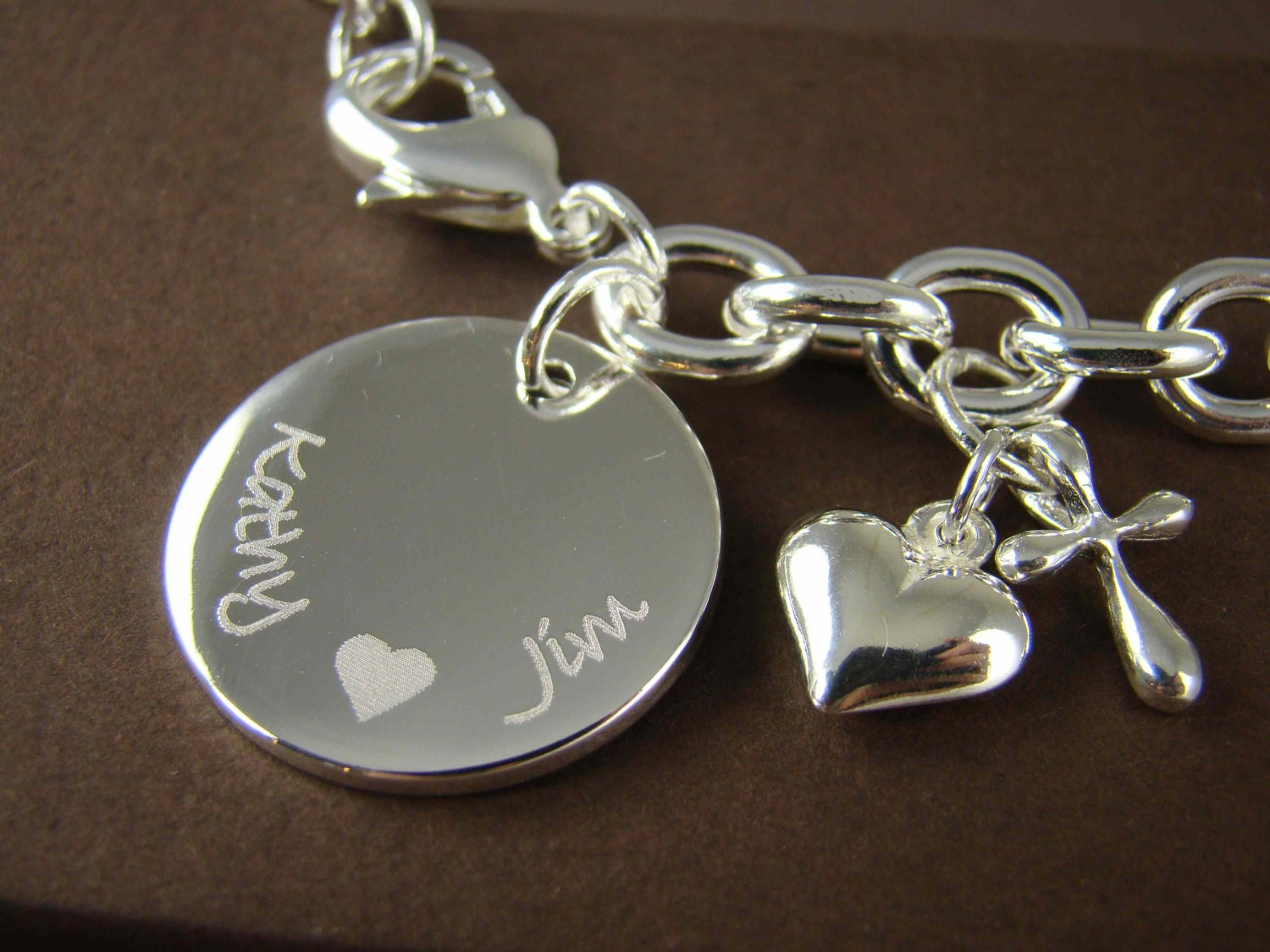 Engraving Wedding Gifts: Personalized Wedding Gift For Her Custom Engraved Bracelet