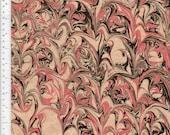 Marbled Paper, Handmade 48x67cm 19x26in Restoration