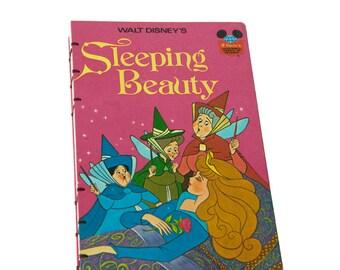 1974 SLEEPING BEAUTY Vintage Notebook Journal