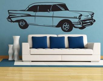 Vinyl Wall Decal Sticker Classic Buick Car 1335s