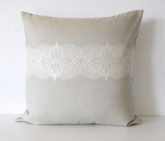 Ethan Allen Lacey Seaglass decorative pillow cover