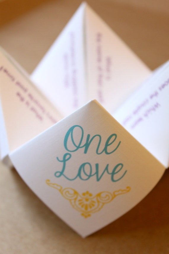Wedding Word Search Cootie Catcher (PDF - PRINTABLE)