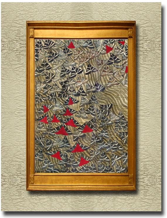 Panaxia I - Fine Art Print on heavy Cotton Canvas - unframed