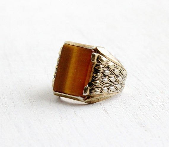 The Deco Stylist Tagged 1960 S Fashion The Deco Haus: Vintage Art Deco Style Tigers Eye Ring Men's Retro