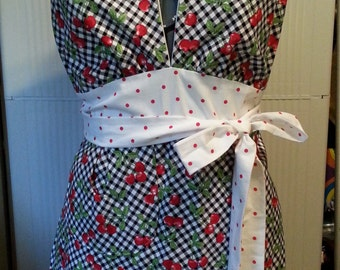 Clearance Cherry Apron