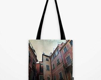 TOTE BAG windows of Cinque Terre