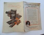 Hersheys chocolate recipe book, vintage hersheys chocolate, hershey pa, hershey chocolate company