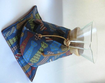 Chemex  Cozy and Warming Pad Set-10 cup Size-Guys-Neck Ties-Last one
