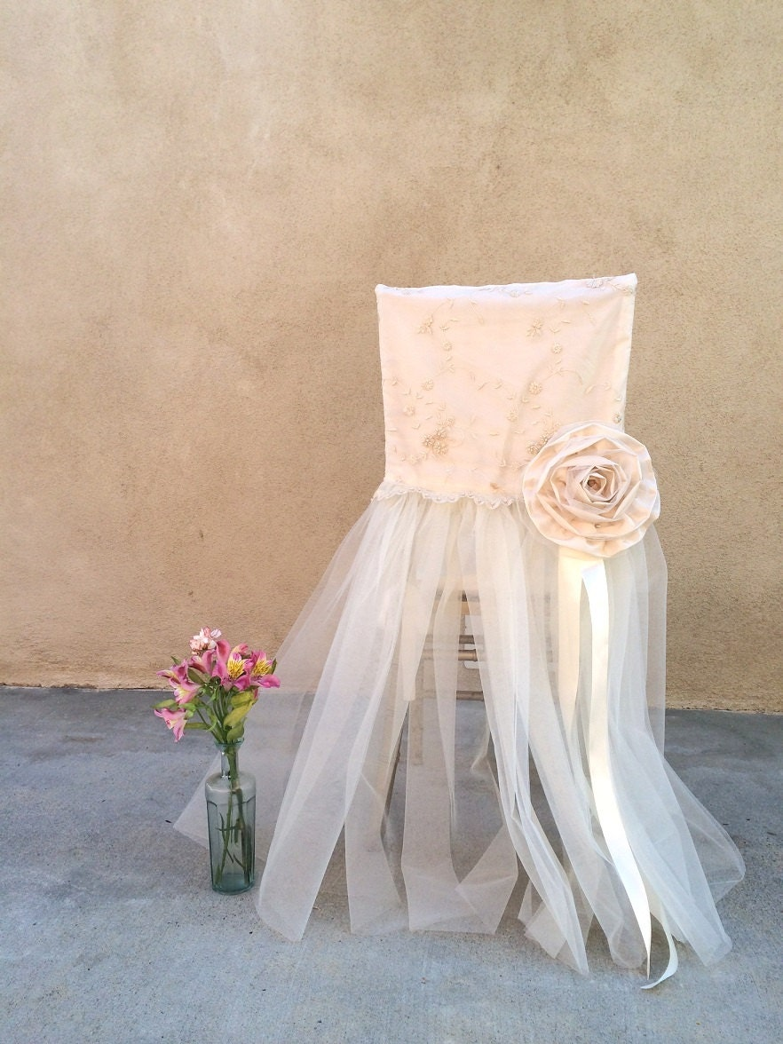 Wedding chair decor wedding chair cover bridal by for Bridal decorations